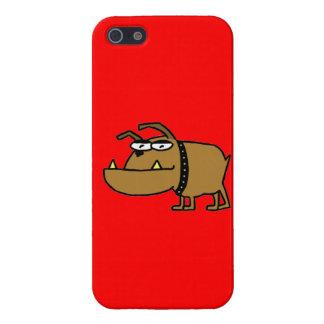 Cartoon Bulldog iPhone 5/5S Cover