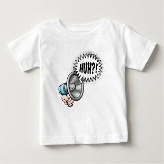 Cartoon Bullhorn Speech Bubble Baby T-Shirt