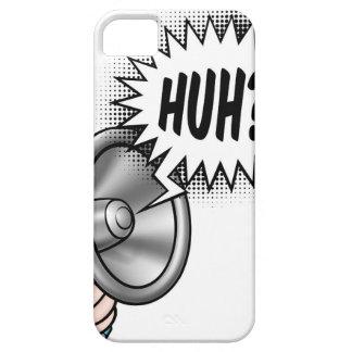 Cartoon Bullhorn Speech Bubble Case For The iPhone 5