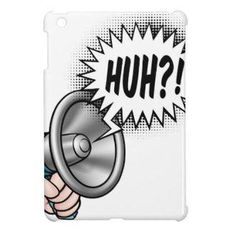 Cartoon Bullhorn Speech Bubble iPad Mini Covers