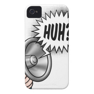 Cartoon Bullhorn Speech Bubble iPhone 4 Cover