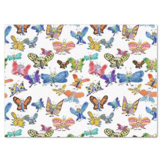 Cartoon Butterflies Tissue Paper