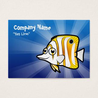 Cartoon Butterflyfish Business Card
