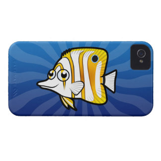 Cartoon Butterflyfish Case-Mate iPhone 4 Cases