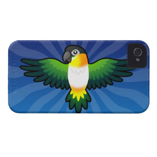 Cartoon Caique / Lovebird / Pionus / Parrot iPhone 4 Case