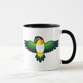 Cartoon Caique / Lovebird / Pionus / Parrot Mug