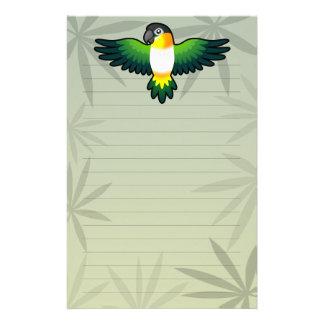 Cartoon Caique / Lovebird / Pionus / Parrot Stationery