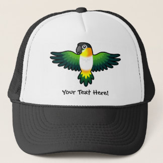 Cartoon Caique / Lovebird / Pionus / Parrot Trucker Hat