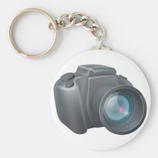 Cartoon camera illustration keychain