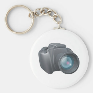 Cartoon camera illustration keychains