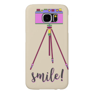 Cartoon Camera Modern Retro Samsung Galaxy S6 Case