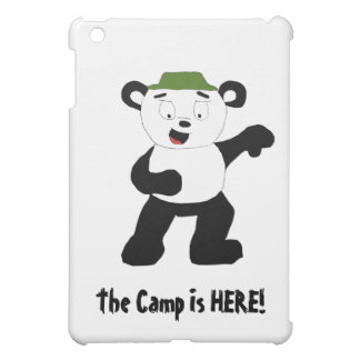 Cartoon Camp Panda Case For The iPad Mini