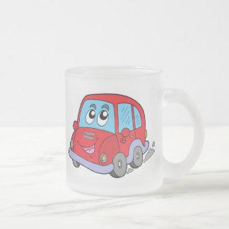 Cartoon car coffee mug