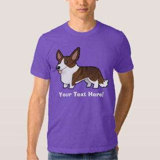 Cartoon Cardigan Welsh Corgi Shirts