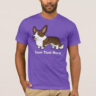 Cartoon Cardigan Welsh Corgi T-Shirt