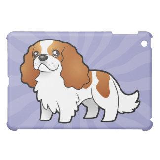Cartoon Cartoon Cavalier King Charles Spaniel iPad Mini Cover