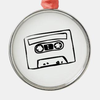 Cartoon Cassette Tape Christmas Tree Ornament