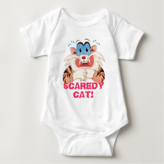 Cartoon Cat Baby Bodysuit