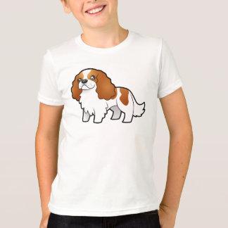Cartoon Cavalier King Charles Spaniel T-Shirt