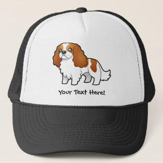 Cartoon Cavalier King Charles Spaniel Trucker Hat