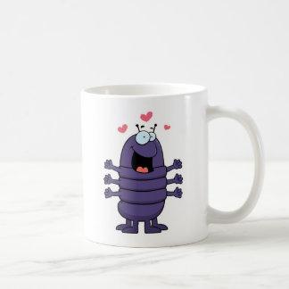 Cartoon Centipede Basic White Mug