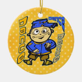 Cartoon Character Dance Christmas Ornament