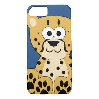 Cartoon Cheetah iPhone 7 Case