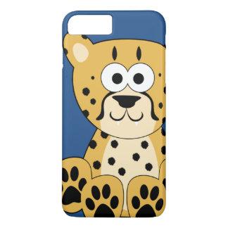 Cartoon Cheetah iPhone 7 Plus Case