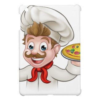 Cartoon Chef Pizza Cover For The iPad Mini