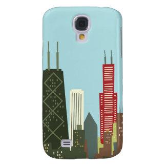 Cartoon Chicago Galaxy S4 Case