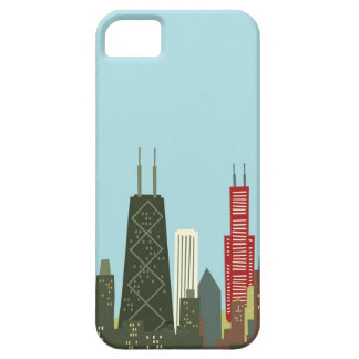Cartoon Chicago iPhone 5 Covers
