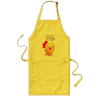 Cartoon Chicken Apron | Funny Cartoon Chicken