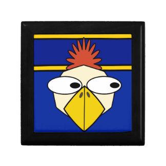 Cartoon chicken small square gift box