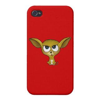 Cartoon Chihuahua Case For iPhone 4