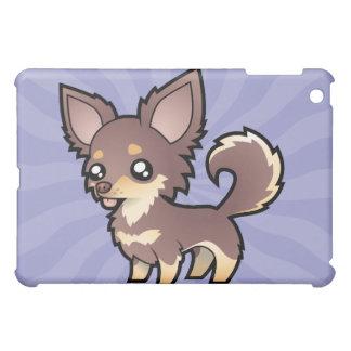 Cartoon Chihuahua (long coat) Case For The iPad Mini