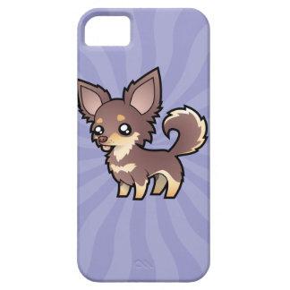 Cartoon Chihuahua (long coat) iPhone 5 Cover