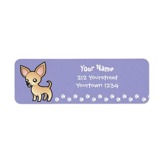 Cartoon Chihuahua (smooth coat)