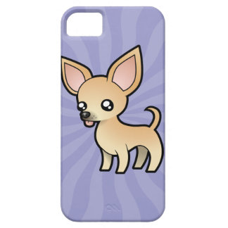 Cartoon Chihuahua (smooth coat) Case For The iPhone 5