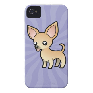 Cartoon Chihuahua (smooth coat) iPhone 4 Case