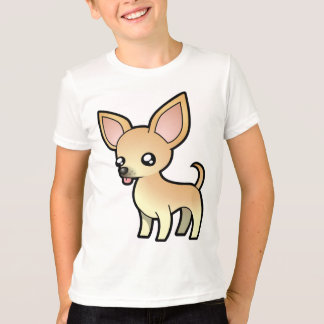 Cartoon Chihuahua (smooth coat) T-Shirt