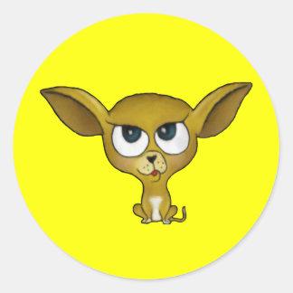 Cartoon Chihuahua Stickers