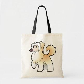 Cartoon Chinese Crested (powderpuff) Tote Bag