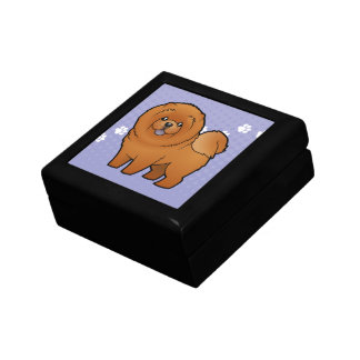 Cartoon Chow Chow Gift Box