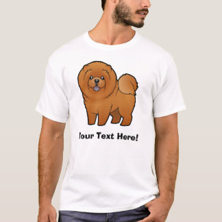 Cartoon Chow Chow T-Shirt