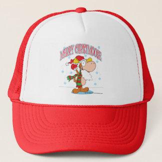 Cartoon Christmas Moose Hat