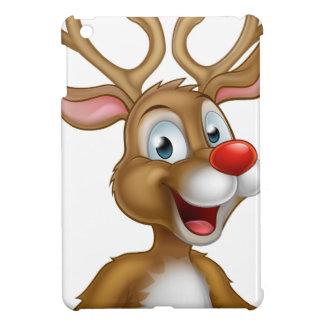 Cartoon Christmas Reindeer Case For The iPad Mini
