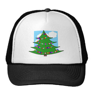 Cartoon Christmas Tree Cap