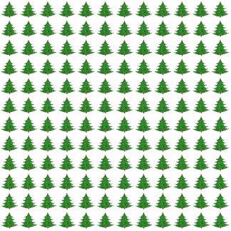 Cartoon Christmas Tree Pattern Photo Cutout