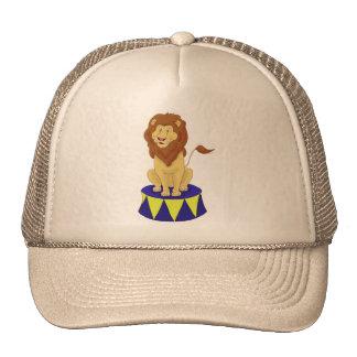 Cartoon Circus Lion Hats