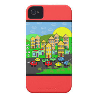 Cartoon City Case-Mate iPhone 4 Case